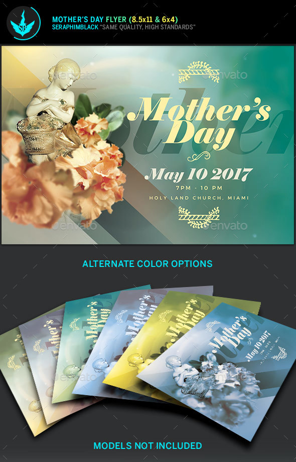 Mother\u0027s Day Flyer Template by SeraphimBlack GraphicRiver - mothers day flyer
