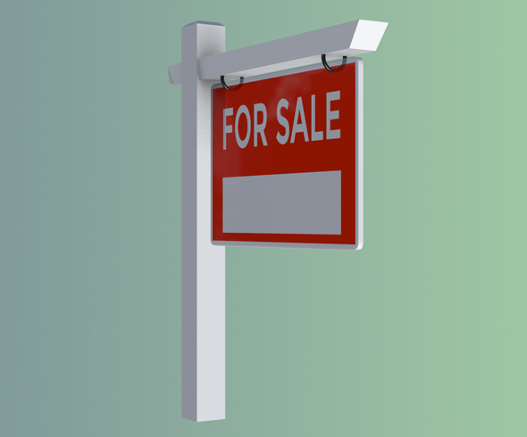 For Sale Sign by MissionComplete 3DOcean - forsale sign