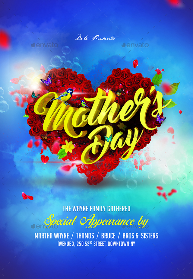 Mothers Day Flyer by doto GraphicRiver