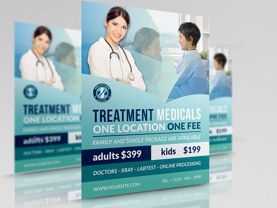 Medical Flyer Template Vol2 by OWPictures GraphicRiver