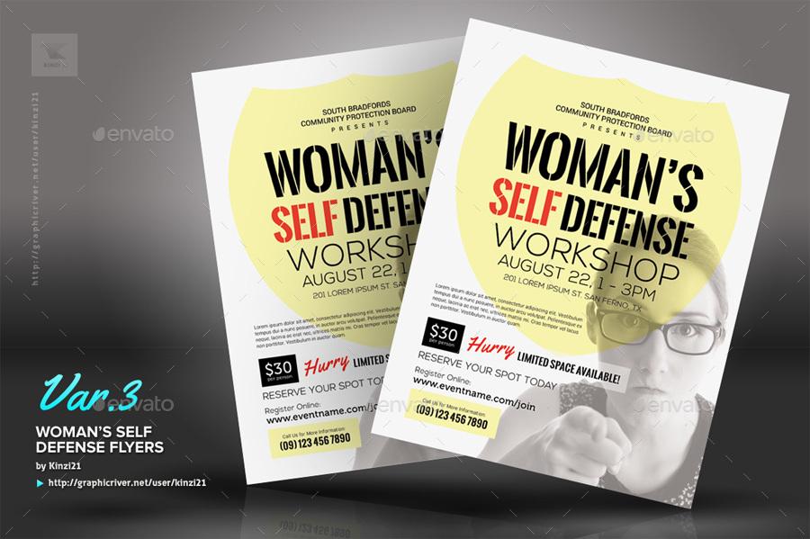 workshop flyer template - Romeolandinez