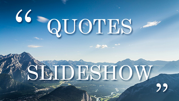 Historical Quote/Quote Effects by motion-template VideoHive - quote on presentation