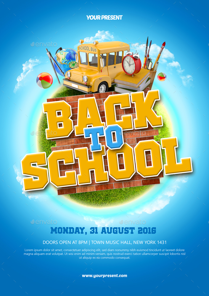 Back To School Flyer by MONOGRPH GraphicRiver