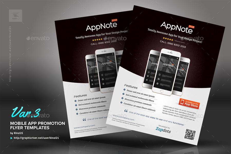 store flyer app - Romeolandinez - promotional flyer designs
