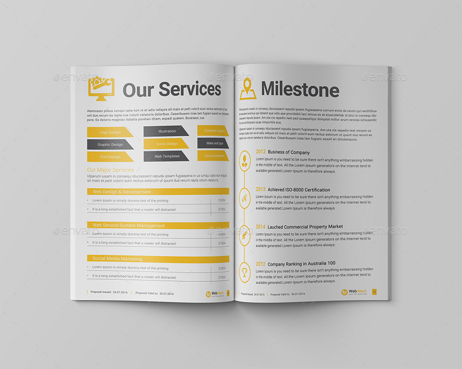 Web Design Project Proposal by KitCreative GraphicRiver - design proposal