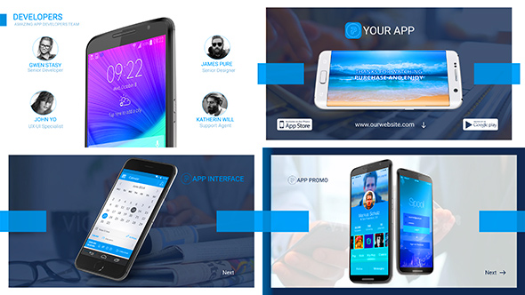 Marketing Presentation for App Developers by corporateking VideoHive