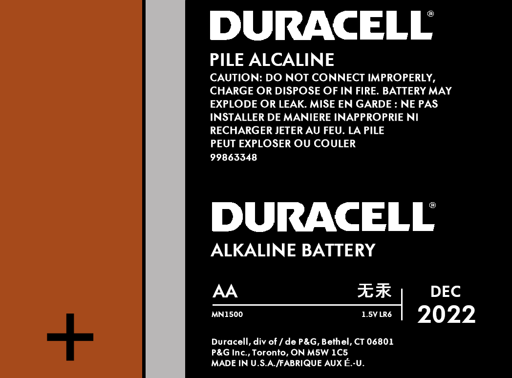 Batterie Aa Duracell Aa Battery By Josepharaoh99 3docean