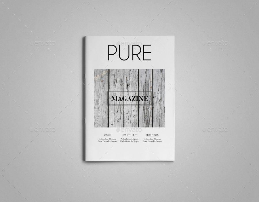 A5 Indesign Magazine Template by uloel GraphicRiver
