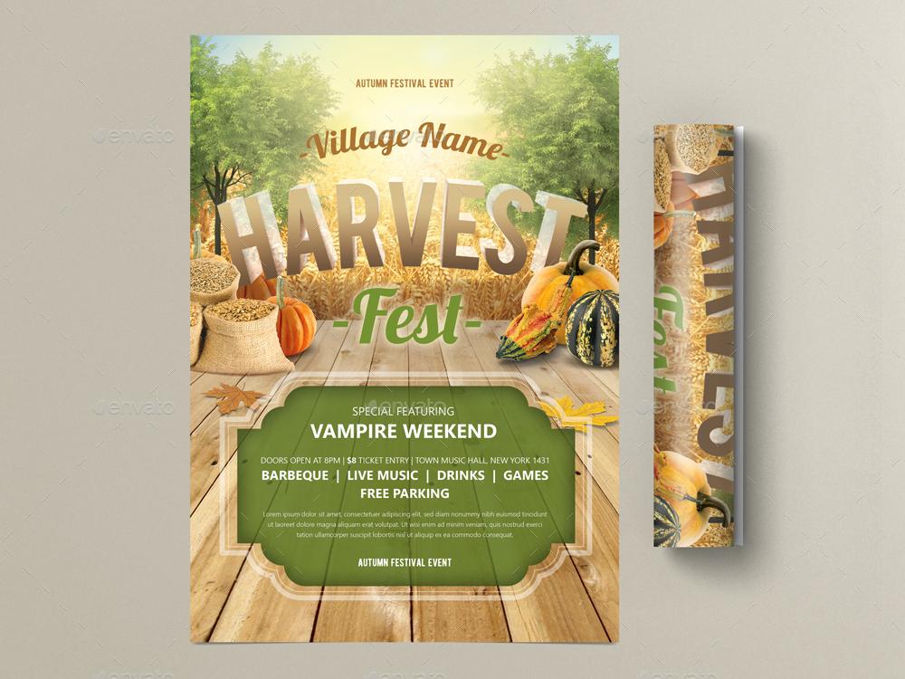 Harvest Festival Flyer by MONOGRPH GraphicRiver