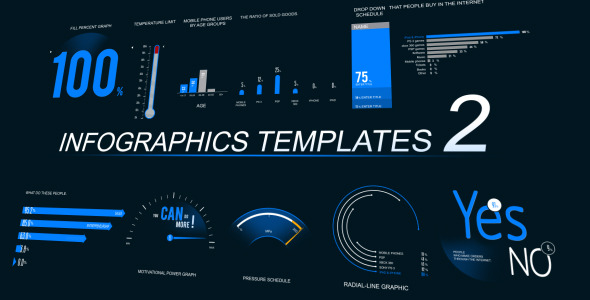 Infographics Template 2 by PerryCox VideoHive