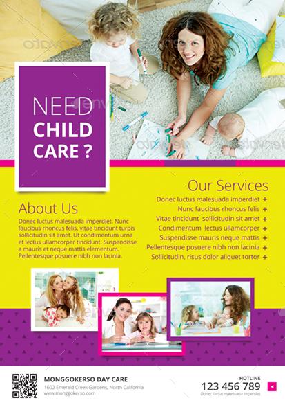 childcare flyer - Josemulinohouse