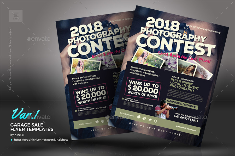 Competition Flyer Template kicksneakers - competition flyer template