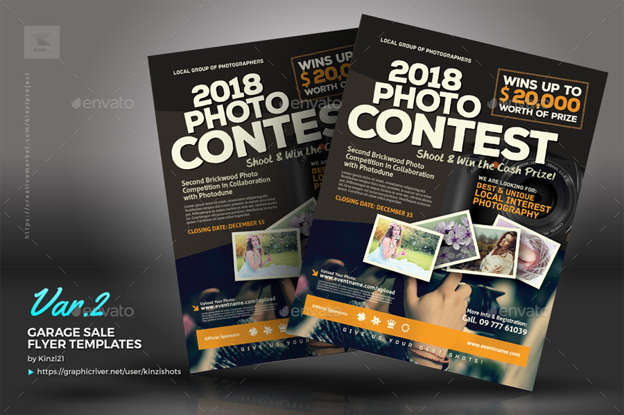 Competition Flyer Template Kicksneakers