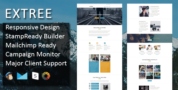 Extree Multipurpose Responsive Email Template