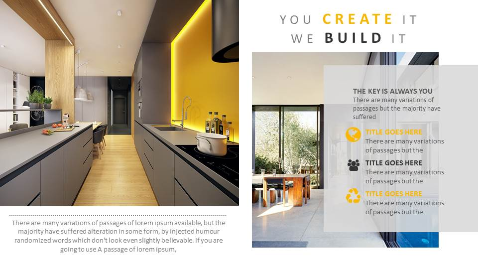 Architecture and Interior Design PowerPoint Presentation Template by