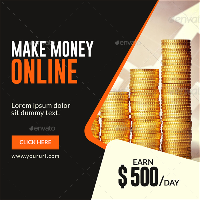 Make Money Online Banners by doto GraphicRiver - how to make online flyers