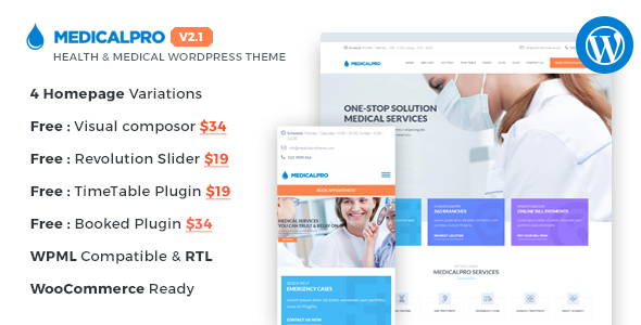 The Best Medical Health WordPress Themes for sigma_current_year