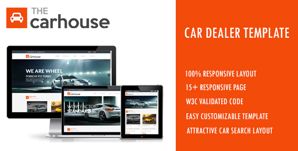 Car Listing Templates from ThemeForest - car sale sign template