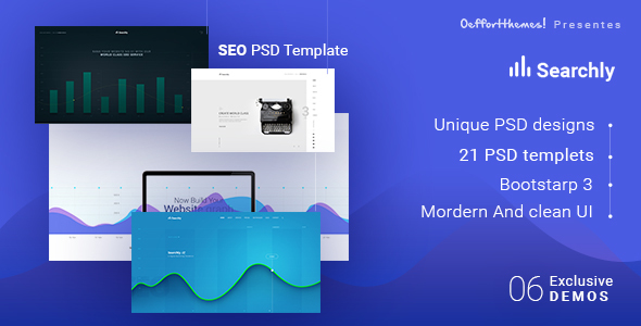 Searchly Multipage Seo Psd Template by 0effortthemes ThemeForest - membership cards templates