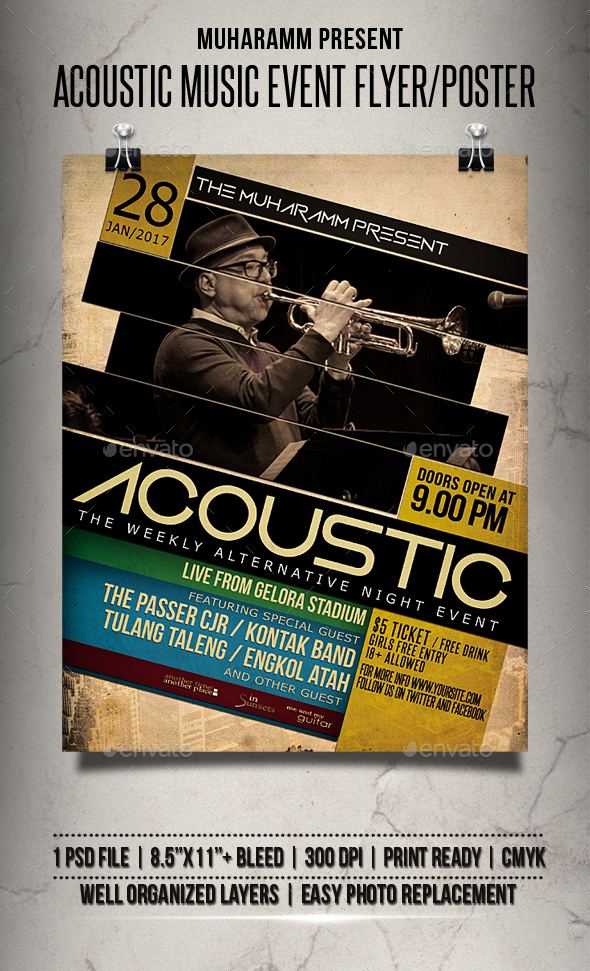 Portfolio Concert and Dance Event Flyer Templates (Page 7)