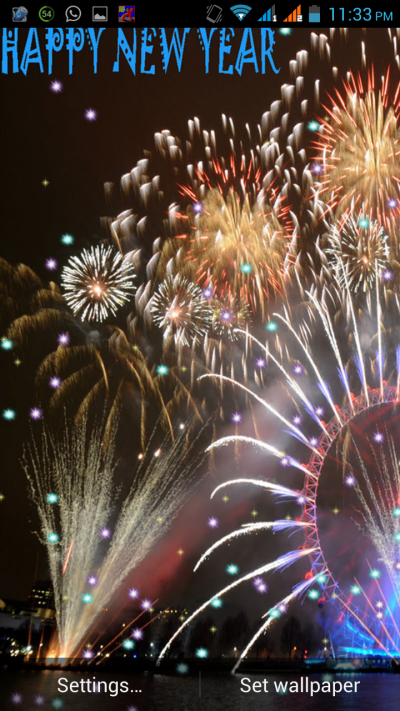 Happy New Year Live Wallpaper by karma_infotech | CodeCanyon
