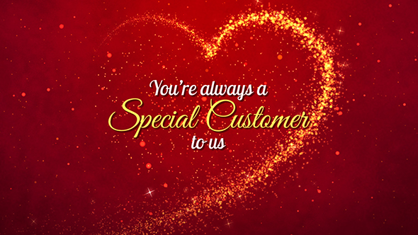 Valentine\u0027s Day Business Greetings by prathungraphics VideoHive
