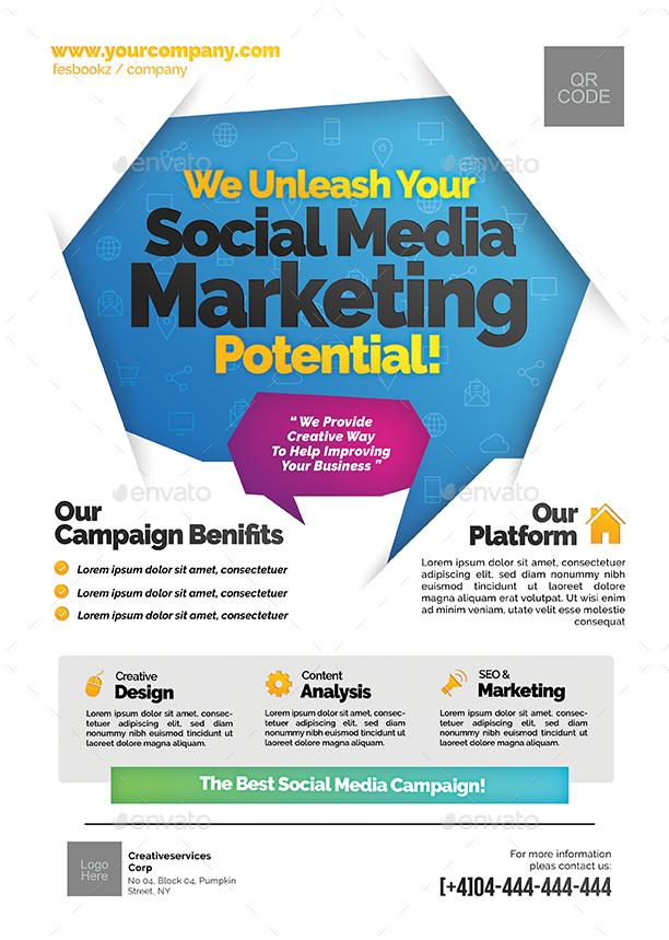 Social Media Campaign Flyer by shamcanggih GraphicRiver