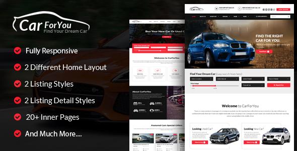 Car Dealer Templates from ThemeForest - car sale sign template