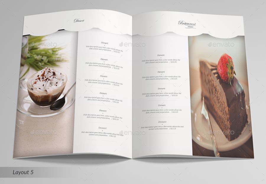 Elegant Restaurant Menu by betty_design GraphicRiver