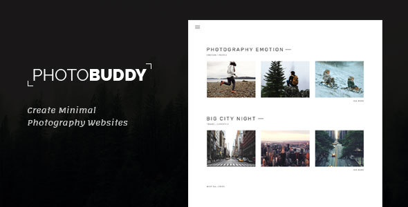 2019\u0027s Best Selling HTML Photography Website Templates