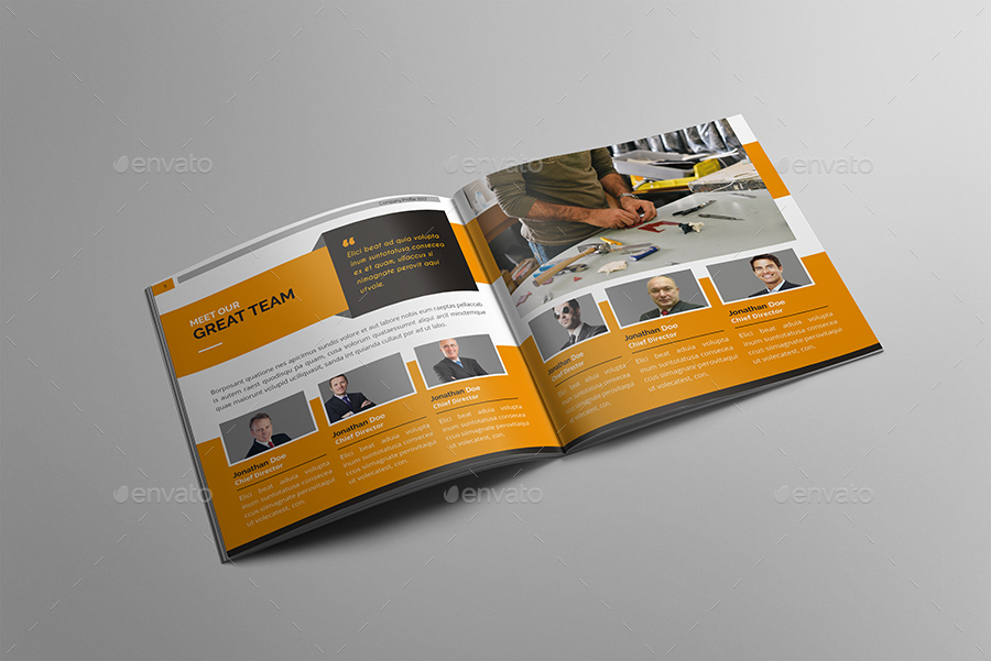 Company Profile by tripleEF GraphicRiver - company profile