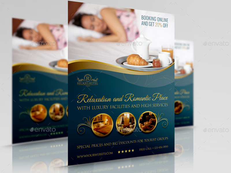 Hotel Flyer Template Vol2 by OWPictures GraphicRiver