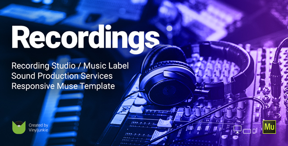 Recordings - Recording Studio / Sound Production / Music Label