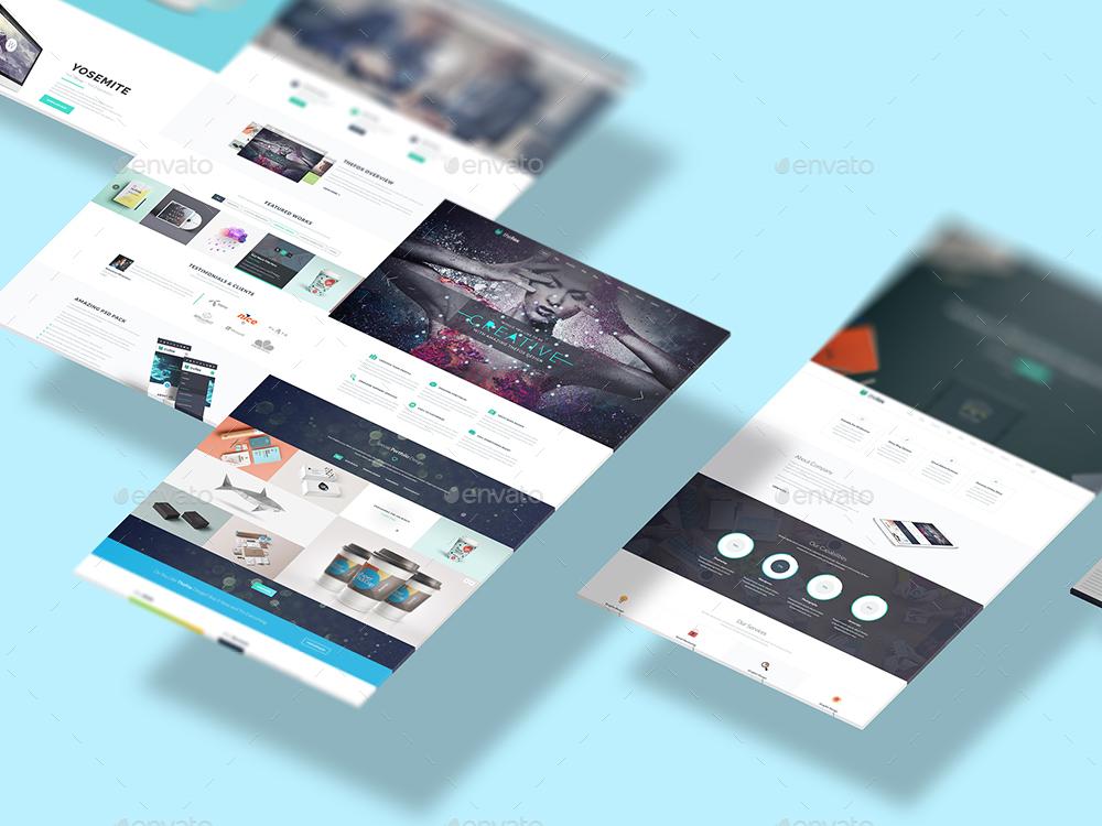 Isometric Web n App Mockup 2 by Zikk GraphicRiver