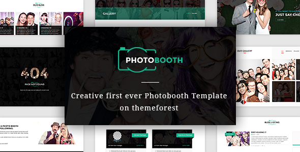 PhotoBooth - Photo Booth template by venbradshaw ThemeForest - po booth template