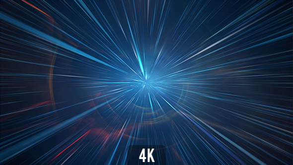Hyperspace 3d Wallpaper Light Speed Space Tunnel 4k By Vf Videohive