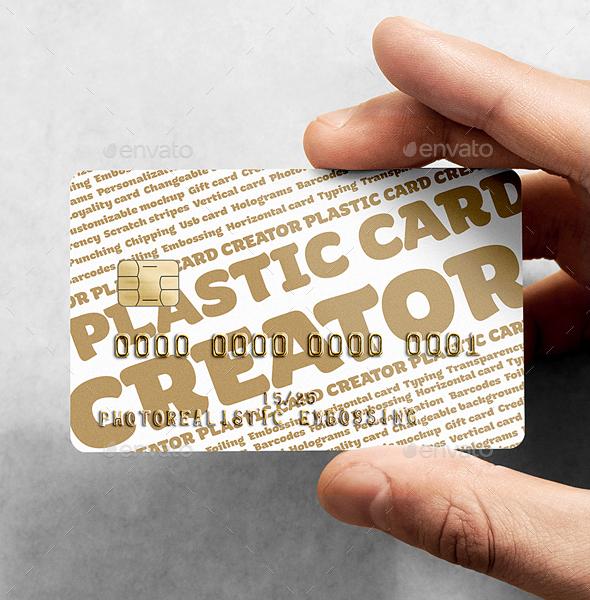 Plastic Card Creator by rebrandy GraphicRiver