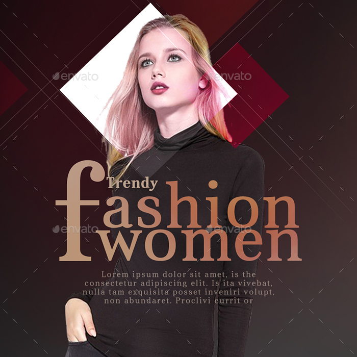 Fashion Instagram Templates - 10 Designs by Hyov GraphicRiver