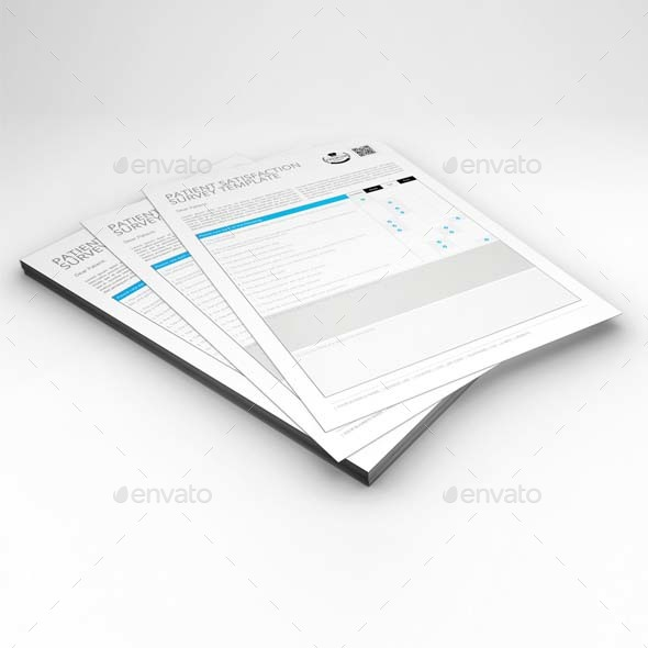 Patient Satisfaction Survey Template by Keboto GraphicRiver - patient satisfaction survey template
