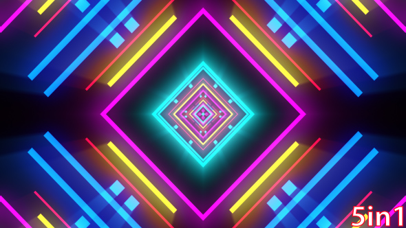 3d Motion Wallpaper For Mobile Vj Neon Lights By Blujewelstudios Videohive