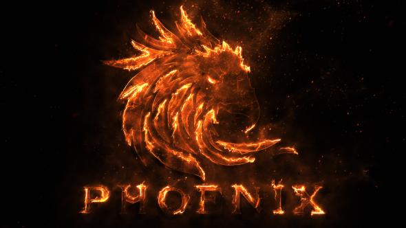 Flame Logo by VladimirPerumov VideoHive - flame logo