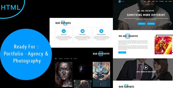 Creative - Agency, Photography  Portfolio Template by BDEXPERT