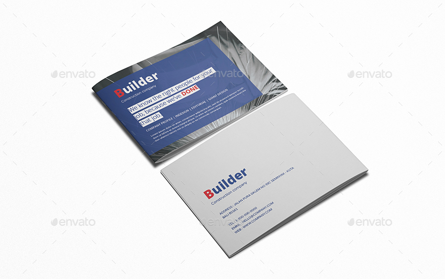 Company Profile A5 Brochure by giantdesign GraphicRiver