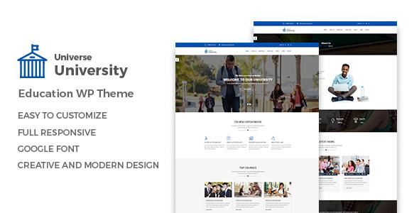 Universe \u2013 Education WordPress Theme by HasTech ThemeForest