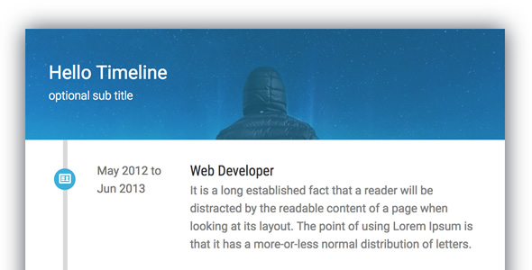 Timeline Card - Addon for WPBakery Page Builder (formerly Visual