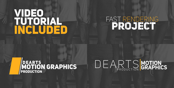 23 Elegant Title Animation by dearts VideoHive - animation title