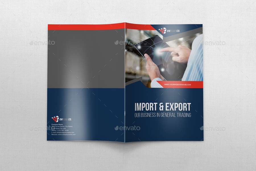 Company Profile Brochure Template Vol44 -12 Pages by OWPictures