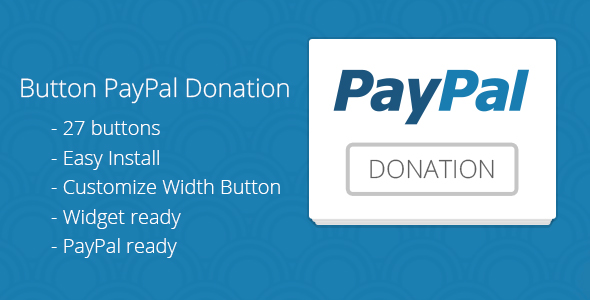 Button PayPal Donation by excellent_dynamics CodeCanyon