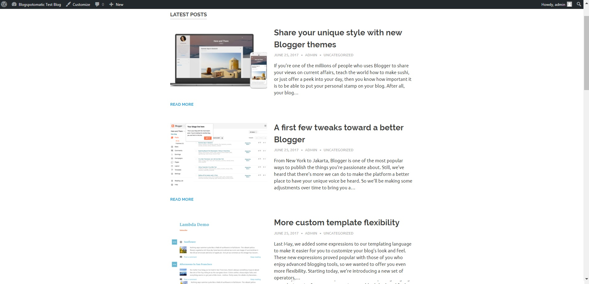 Blog Blogspot Wordpress Blogspotomatic Automatic Post Generator And Blogspot Auto Poster Plugin For Wordpress