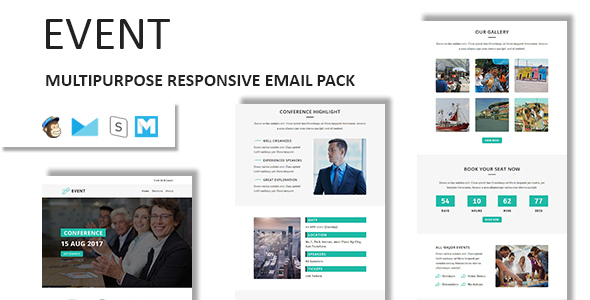 EVENT - Multipurpose Responsive Email Template with Stampready